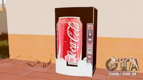 A Coca-Cola De Máquina para GTA San Andreas