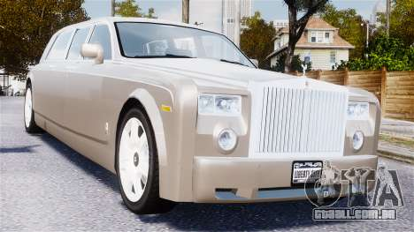 Rolls-Royce Phantom LWB para GTA 4 vista interior