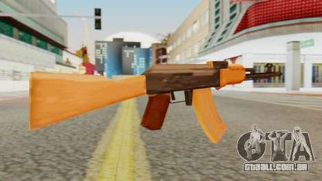AK-74 SA Style para GTA San Andreas segunda tela