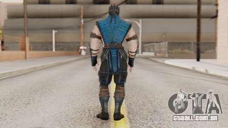 [MKX] Sub-Zero Masked para GTA San Andreas terceira tela