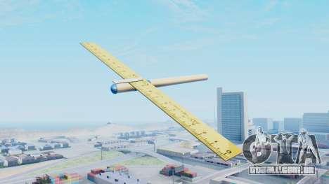 Fantástico avião para GTA San Andreas