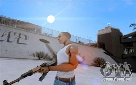 AK-47 Soviet para GTA San Andreas segunda tela