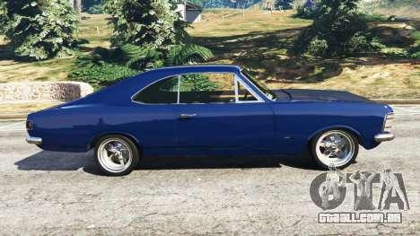 GTA 5 Chevrolet Opala Gran Luxo vista lateral esquerda