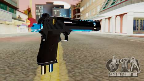 Fulmicotone Desert Eagle para GTA San Andreas segunda tela