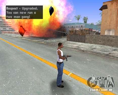Blood Effects para GTA San Andreas quinto tela