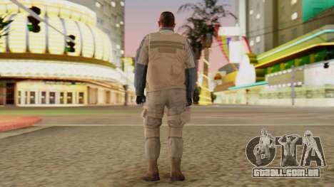 [GTA5] BlackOps1 Army Skin Desert para GTA San Andreas terceira tela