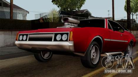 Muscle-Clover Beta v2 para GTA San Andreas vista interior