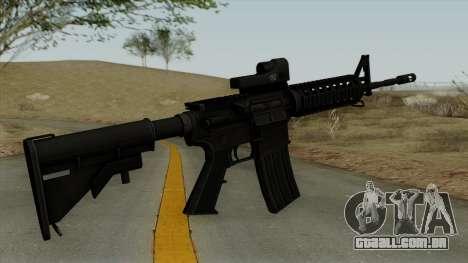 AR-15 Trijicon para GTA San Andreas segunda tela