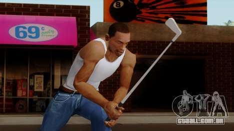 Original HD Golf Club para GTA San Andreas