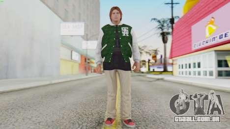 [GTA5] Families Member para GTA San Andreas segunda tela