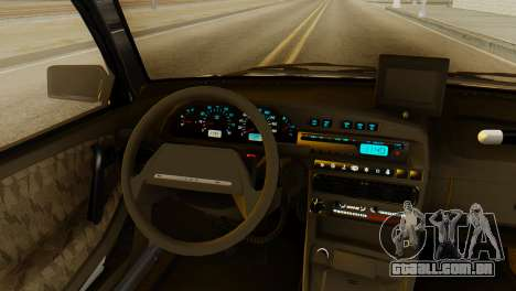 VAZ 2115 DPS para GTA San Andreas vista traseira
