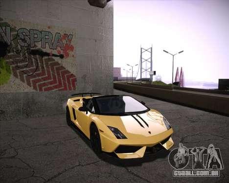 Professional Graphics Mod 1.2 para GTA San Andreas segunda tela