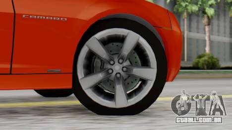 NFS Carbon Chevrolet Camaro IVF para GTA San Andreas traseira esquerda vista