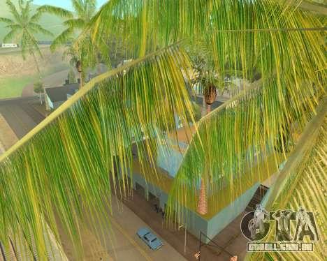 Palmeiras de Crysis para GTA San Andreas segunda tela