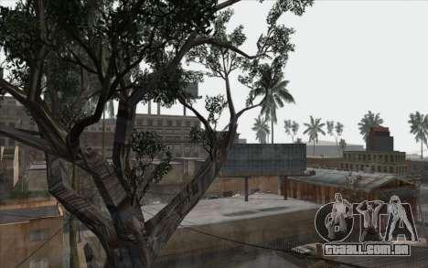 Árvores de WarFace para GTA San Andreas sexta tela