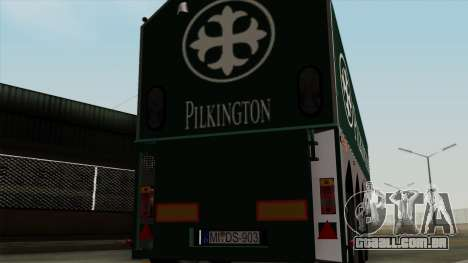 Trailer Glass v1 para GTA San Andreas vista direita