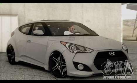 Hyundai Veloster 2012 para o motor de GTA San Andreas
