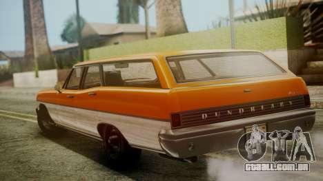 GTA 5 Dundreary Regina para GTA San Andreas esquerda vista