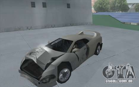 GTA 3 Infernus SA Style para GTA San Andreas traseira esquerda vista