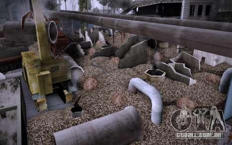 Edifício na Grove Street v0.1 Beta para GTA San Andreas sexta tela