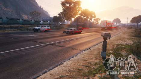 Polícia radar v1.1 para GTA 5