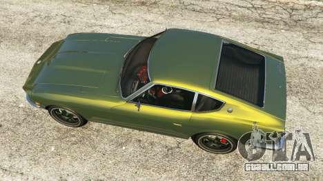 GTA 5 Datsun 240Z voltar vista