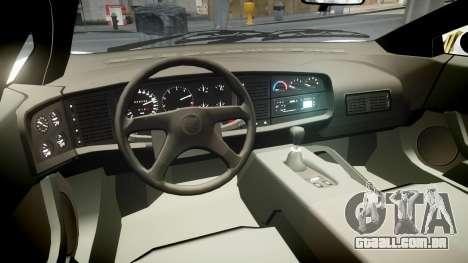 Jaguar XJ220 1992 [EPM] Martini para GTA 4 vista de volta