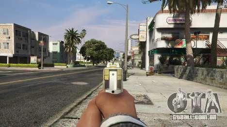 GTA 5 Asiimov Pistol.50 sexta imagem de tela