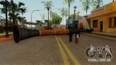 Original HD Rocket Launcher para GTA San Andreas segunda tela