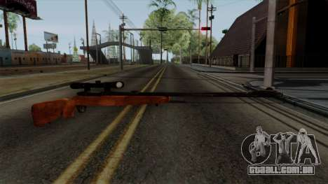 Original HD Sniper Rifle para GTA San Andreas segunda tela