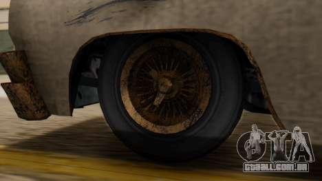 GTA 5 Declasse Voodoo Worn IVF para GTA San Andreas traseira esquerda vista