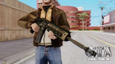 M4A1 Magpul para GTA San Andreas segunda tela