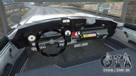 GTA 5 Cadillac Miller-Meteor 1959 ECTO-1 v0.1 [Beta] traseira direita vista lateral