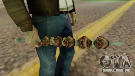 Skewer para GTA San Andreas segunda tela