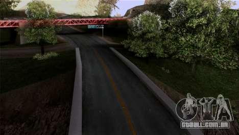 Roads Full Version LS-LV-SF para GTA San Andreas segunda tela