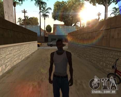 O sol de GTA 5 Final para GTA San Andreas segunda tela