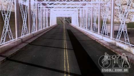 Roads Full Version LS-LV-SF para GTA San Andreas sétima tela