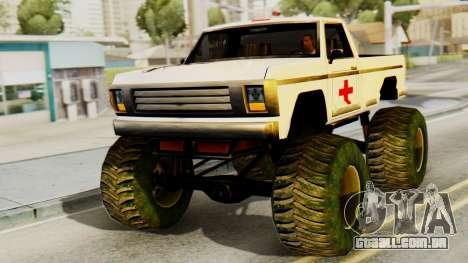 Novos pintura original por Um Monstro para GTA San Andreas