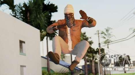 [BF Hardline] Gang Enforcer para GTA San Andreas