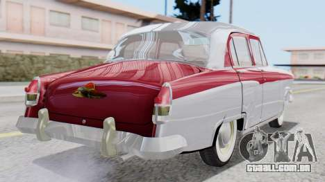 GAZ 21 Volga v2 para GTA San Andreas esquerda vista