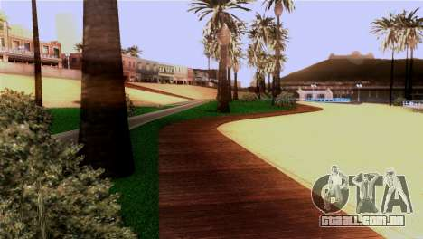 Nova praia em Los Santos para GTA San Andreas quinto tela