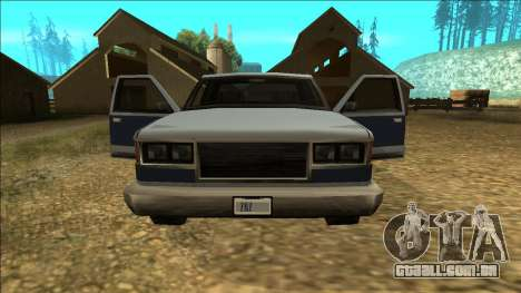 New Yosemite v2 para as rodas de GTA San Andreas