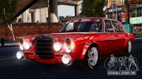 Mercedes-Benz 300 SEL 6.8 AMG W109 para GTA 4 vista de volta