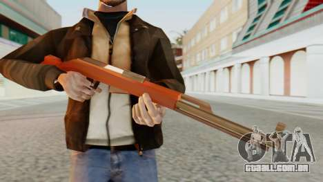 SKS SA Style para GTA San Andreas terceira tela