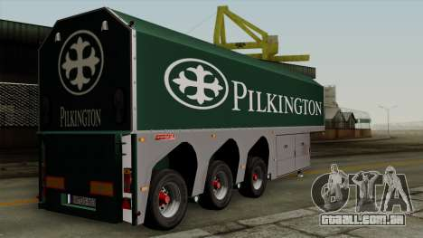 Trailer Glass v1 para GTA San Andreas esquerda vista