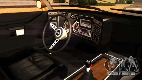 Ford Falcon XB Interceptor Mad Max para GTA San Andreas traseira esquerda vista