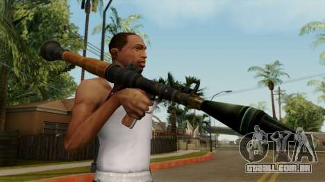 Original HD Rocket Launcher para GTA San Andreas terceira tela