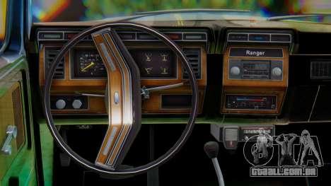 Ford F-150 1984 Final para GTA San Andreas vista interior