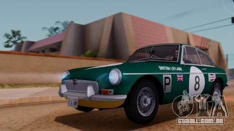 MGB GT (ADO23) 1965 FIV АПП para GTA San Andreas vista superior