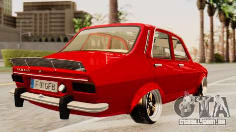 Dacia 1300 GFB v2 para GTA San Andreas esquerda vista